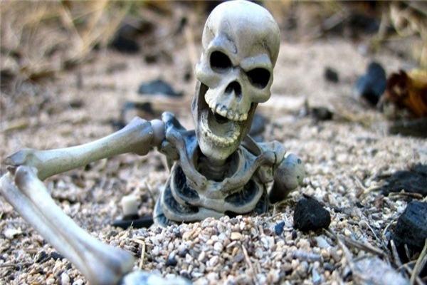 Mơ thấy xương người là điềm báo gì