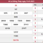 Phân tích kqxs Đồng Tháp ngày 18/1/2021 chốt số dự đoán