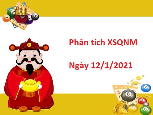 Phân tích XSQNM 12/1/2021 hôm nay - Dự đoán xổ số Quảng Nam ngày 12 tháng 1 năm 2021 - Soi cầu XSQNM 12/1/2021. Tham khảo chốt số bạch thủ lô đài Quảng Nam (XSQNA) chiều hôm nay thứ 3 chính xác nhất. Dự đoán xổ số Quảng Nam ngày 12 tháng 1