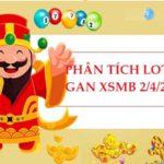 Phân tích loto gan KQXSMB 2/4/2021 hôm nay