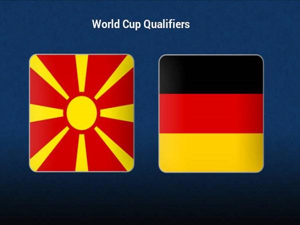 Tip kèo Bắc Macedonia vs Đức – 01h45 12/10, VL World Cup 2022